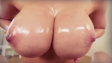 POV HUGE TITS // ANGELA WHITE / BROOKLYN CHASE // PMV