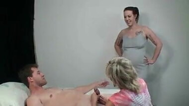 Mom, Daughter & Son Threesome