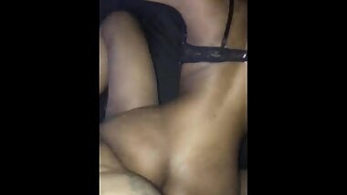 Sexy petite ebony from Plenty of Fish taking big Mexican dick
