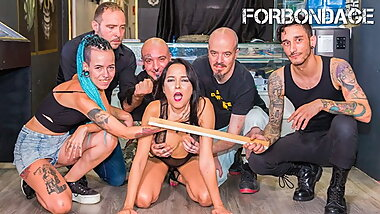 FORBONDAGE BDSM Xtreme Sex With Hot Brazilian Francys Belle